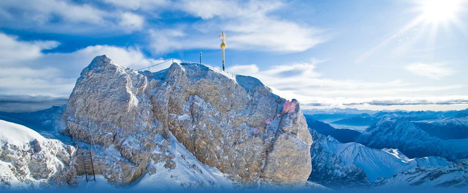 Berggipfel in Garmisch-Partenkirchen