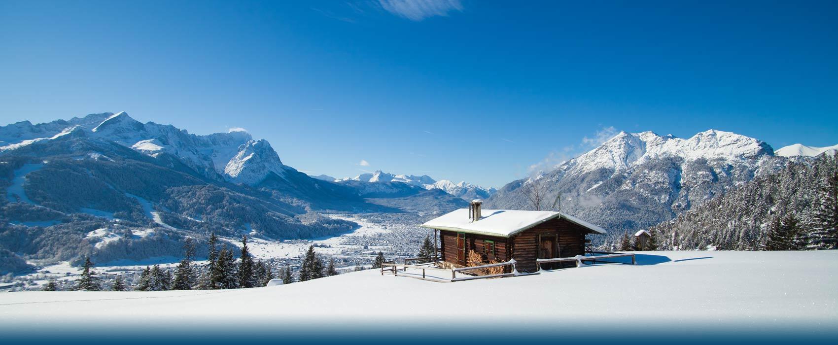 Der Winter In Garmisch Partenkirchen