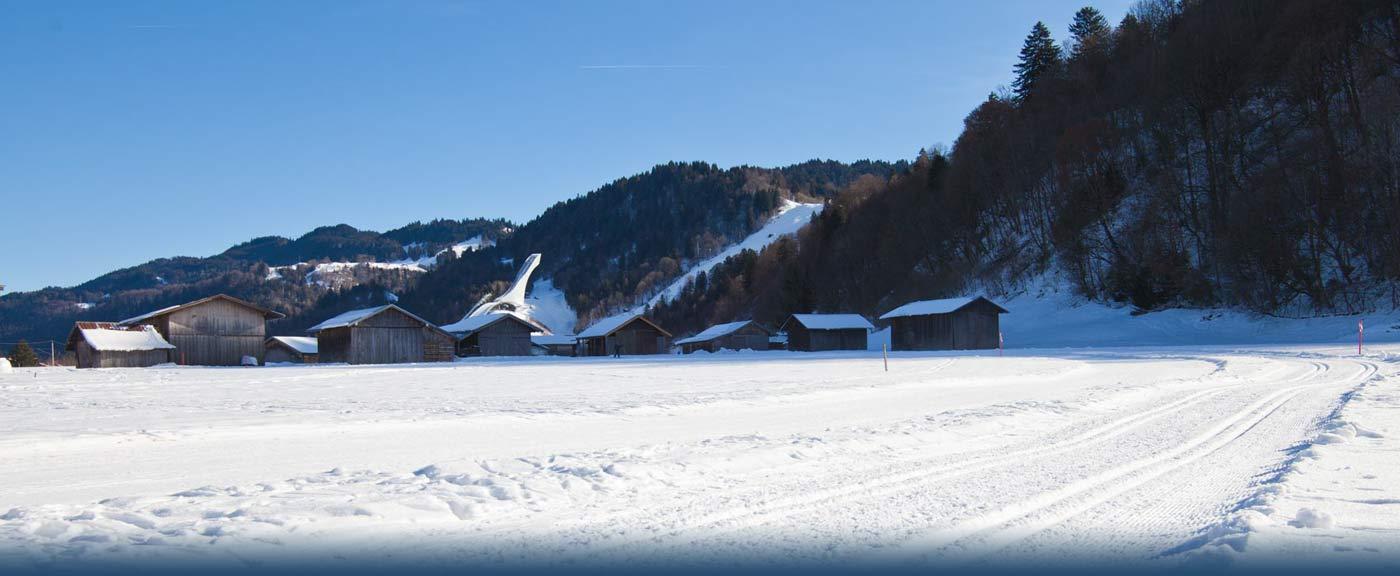 Loipe Hausberg - Skistadion