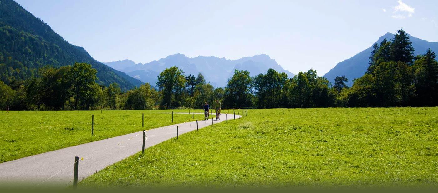 Radtouren in Garmisch-Partenkirchen