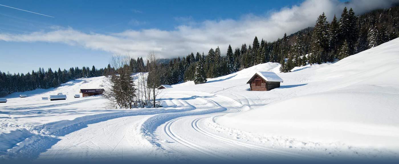 Skilanglauf in Garmisch-Partenkirchen