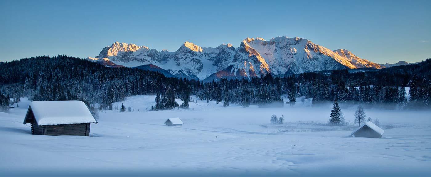 Winterwandern in Garmisch-Partenkirchen